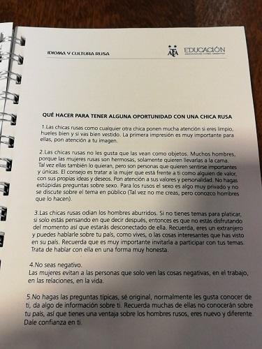 LBDĐ Argentian hướng dẫn các cầu thủ...tán tỉnh phụ nữ Nga - Bóng Đá