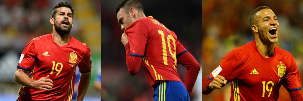 Tây Ban Nha vẫn chưa xác định được tiền đạo cắm - Bóng Đá