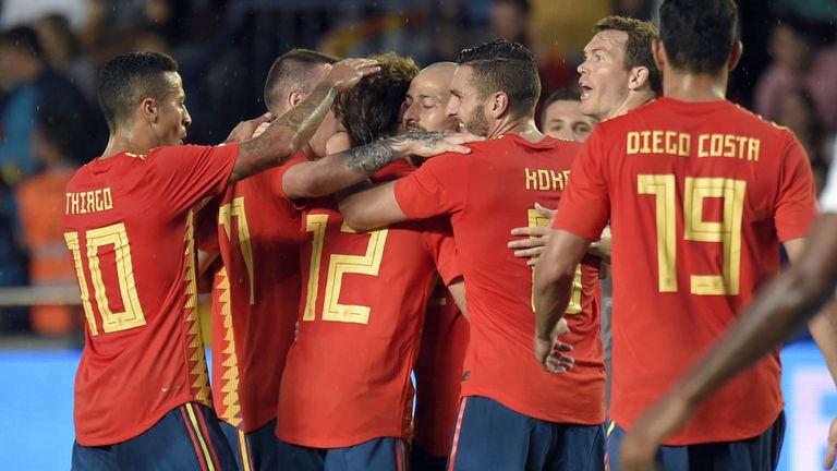 5 điểm nhấn Tây Ban Nha 1-1 Thụy Sĩ: - Bóng Đá