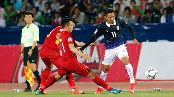 ĐT Việt Nam đá trận gặp Campuchia tại Asian Cup 2019 trên sân Mỹ Đình - Bóng Đá
