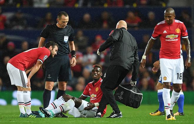 Bí ẩn chấn thương của Paul Pogba