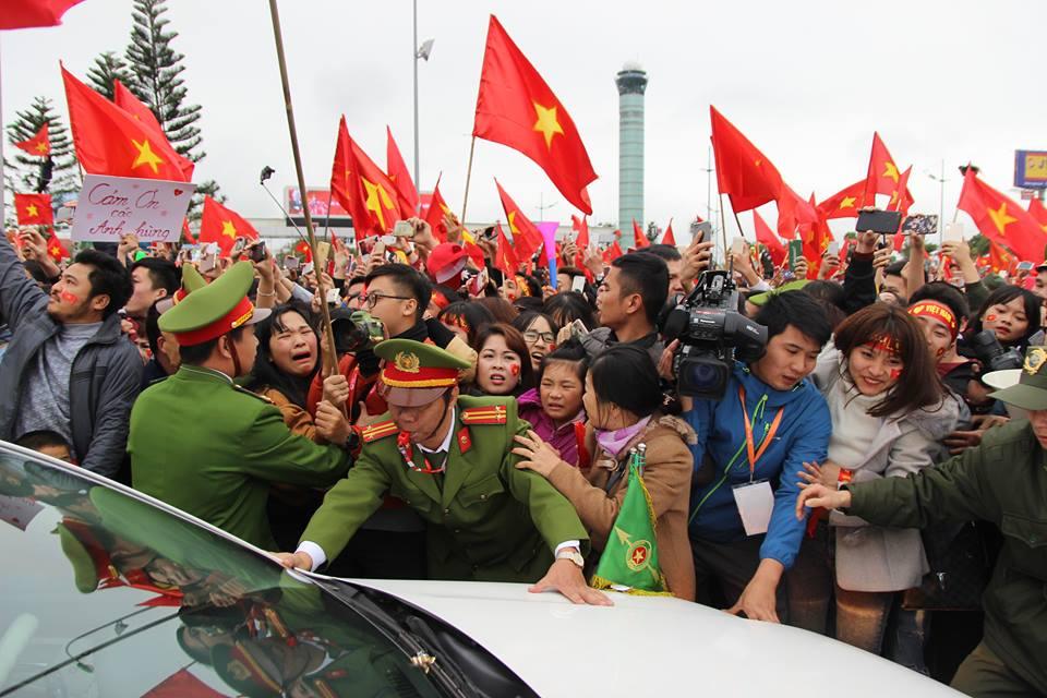 U23 Việt Nam ngày trở về