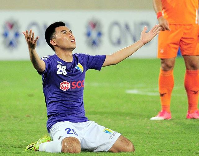 Đức Huy gặp khó trong cuộc đua giành suất đá chính ở Hà Nội FC - Bóng Đá