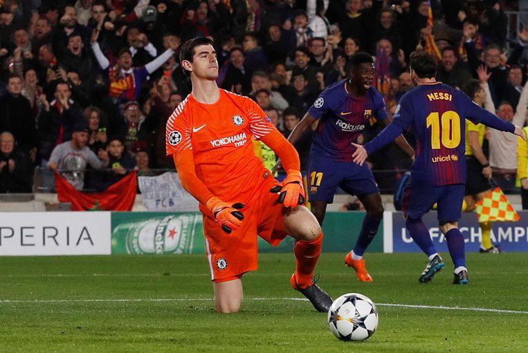 Bị Messi 2 lần xâu kim xỉ nhục , Courtois xót xa lên tiếng lý giải khiến tất cả không kìm được nước mắt