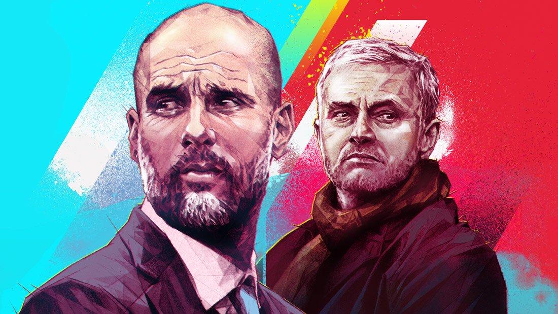 Pep Guardiola & Mourinho