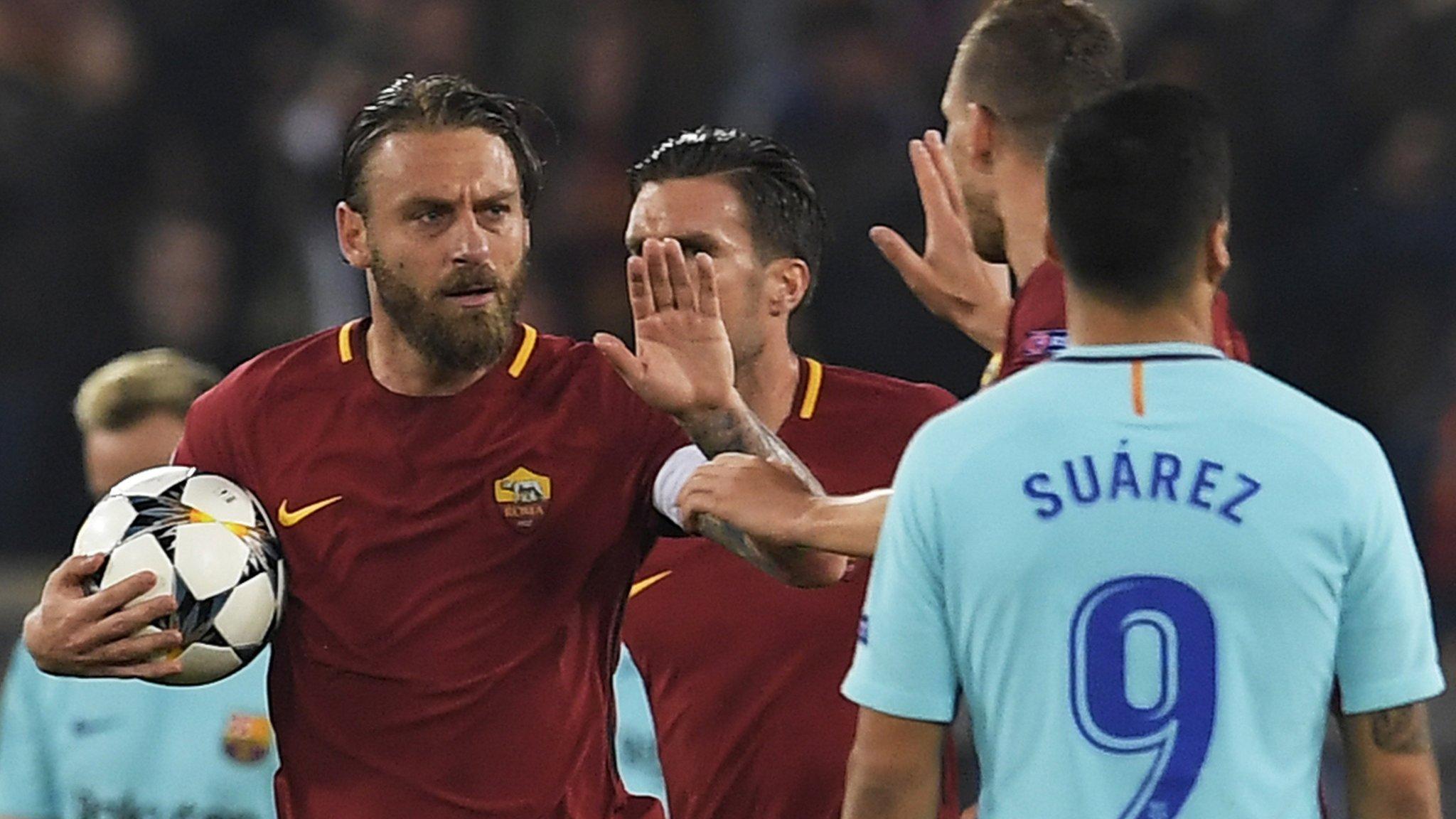 Thắng Barca, De Rossi mơ đến cúp bạc Champions League - Bóng Đá