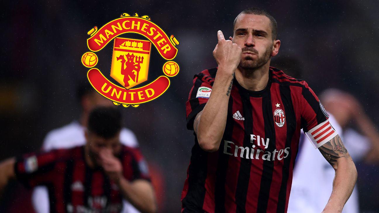 Nâng cấp hàng thủ, Man Utd quyết tậu Bonucci - Bóng Đá