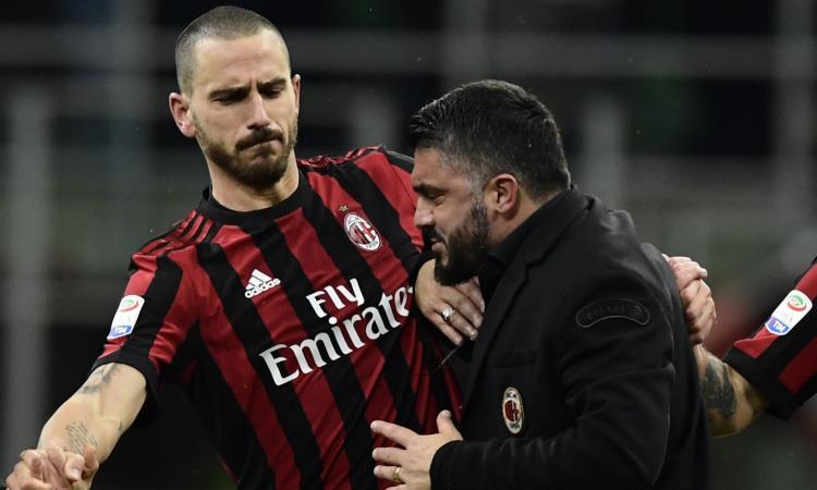 Bonucci được PSG, MU tăm tia, Gattuso nhất quyết không níu kéo - Bóng Đá