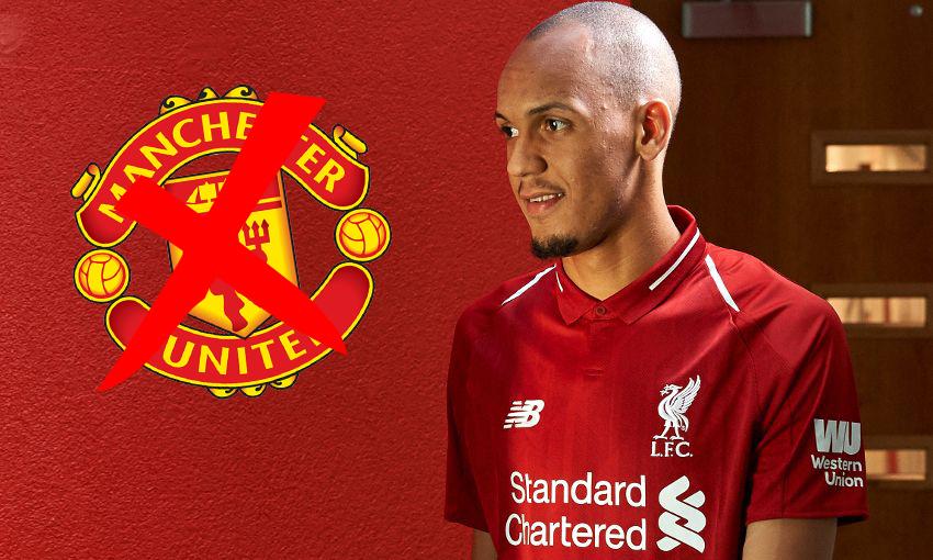 Đây, lý do Fabinho chọn Liverpool thay vì Man Utd - Bóng Đá