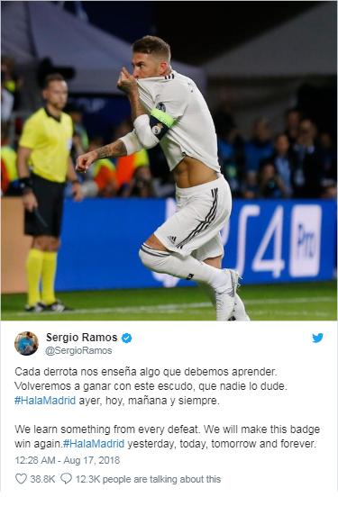 Thua đau Atletico, Ramos hẹn ngày