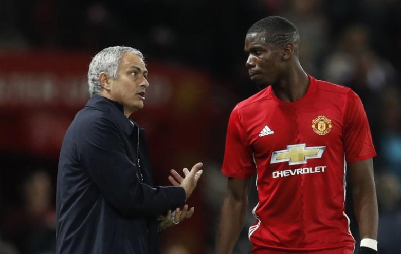 Mourinho dùng De Gea 'đá đểu' Pogba - Bóng Đá