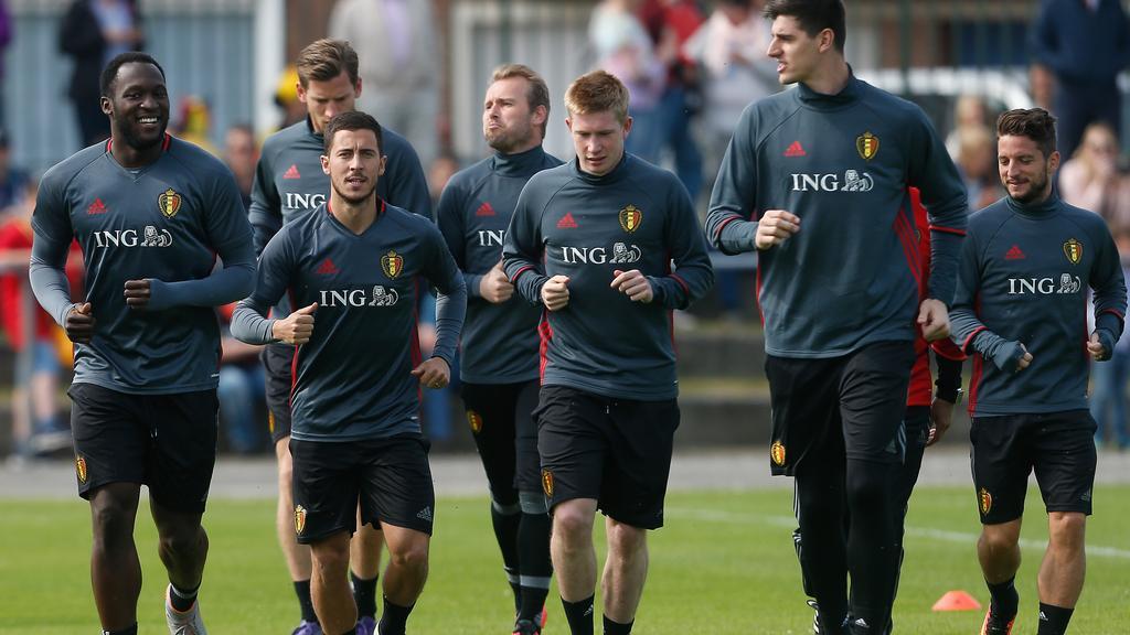 Chelsea nhận HUNG TIN từ buổi tập của đội tuyển Bỉ - Bóng Đá