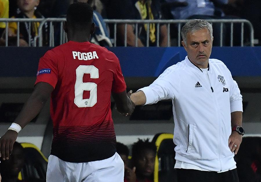 Đây, lý do Mourinho thay Pogba ra sân khi anh có thể hoàn tất cú hattrick  - Bóng Đá