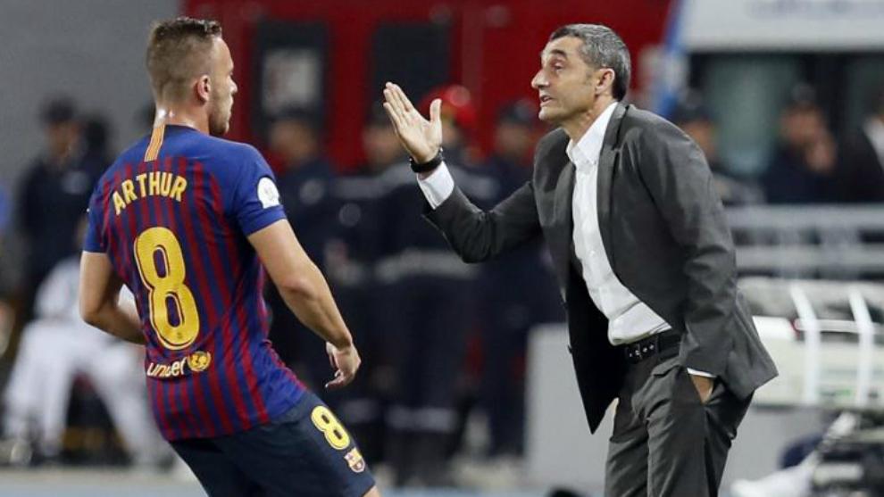 Không phải Messi, đây mới là cái tên HLV Valverde ngưỡng mộ - Bóng Đá