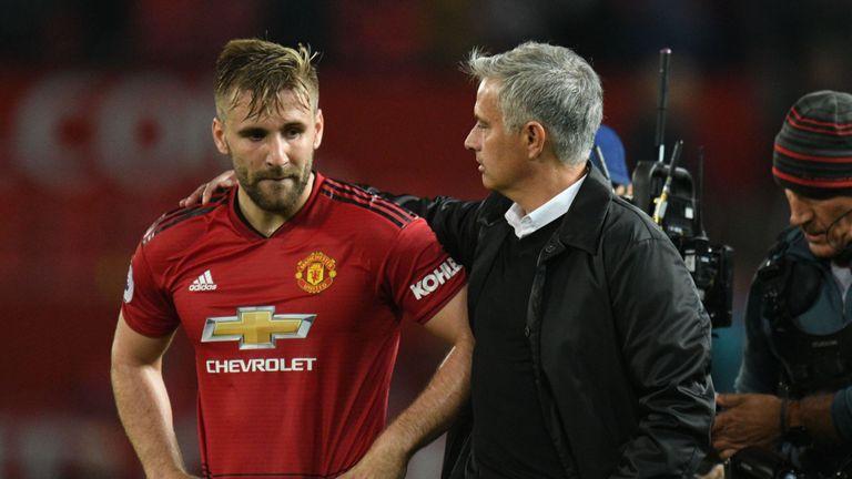 Mourinho nhận tin cực vui trước đại chiến với Chelsea (Luke Shaw bình phục) - Bóng Đá
