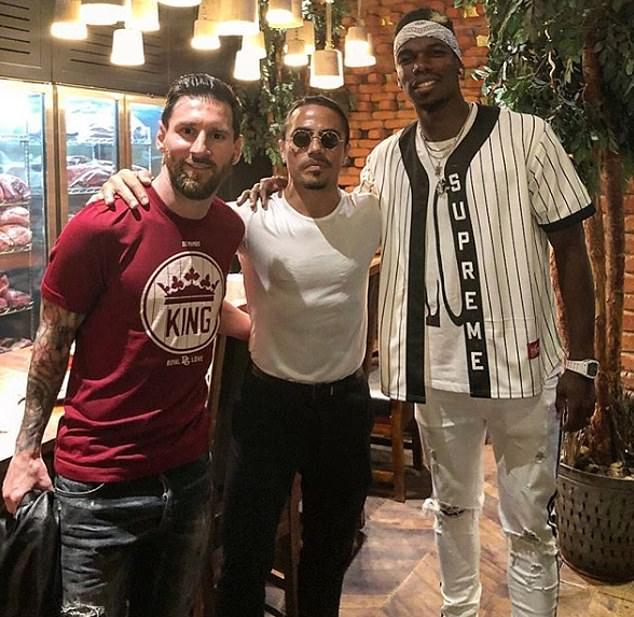 Đây, điều Pogba châm chọc Messi tại Dubai - Bóng Đá
