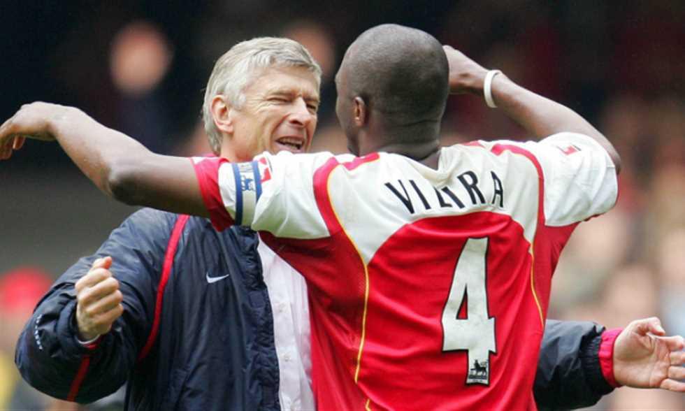 Wenger chỉ ra 2 cái tên của Arsenal ngan tầm với Patrick Vieira - Bóng Đá