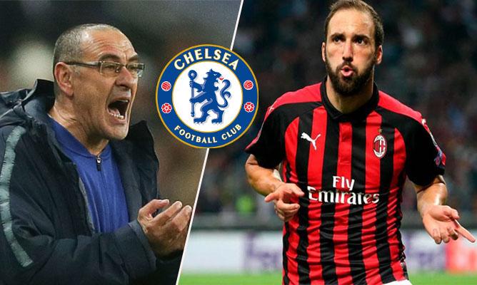 Được Sarri mở lời, Higuain gửi thông điệp chuyển nhượng đến Chelsea - Bóng Đá