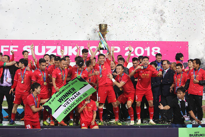 Vô địch AFF Cup, Việt Nam đã vượt mặt Thái Lan? - Bóng Đá