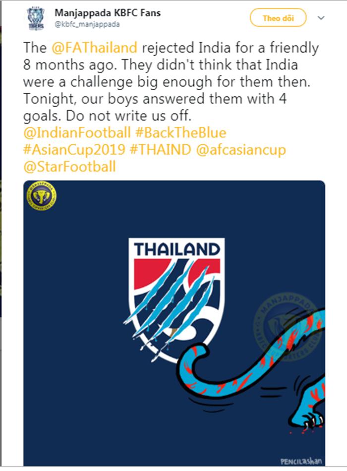 Đây, nguyên nhân sâu xa khiến ĐT Thái Lan ôm hận trước Ấn Độ (coi thường không đá giao hữu) - Bóng Đá
