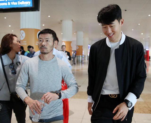 Son Heung-min tề tựu ĐT Hàn Quốc - Bóng Đá
