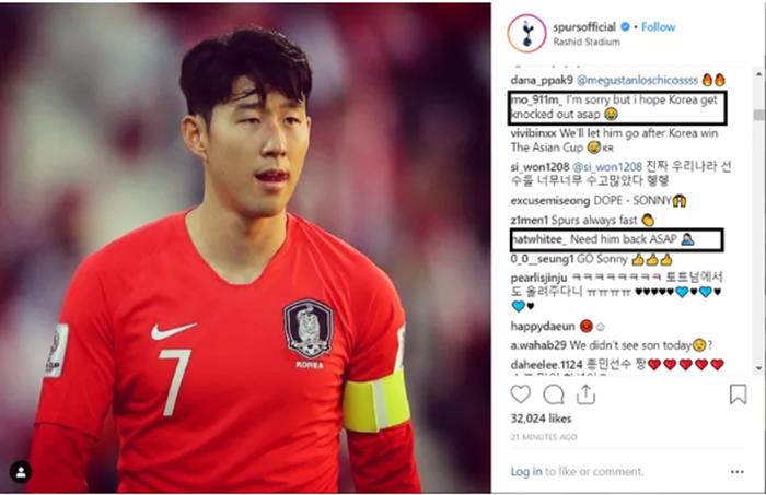 Tôi rất xin lỗi nhưng tôi mong Hàn Quốc bị loại khỏi Asian Cup.
