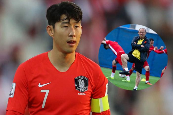Son Heung-min gửi thông điệp đến HLV Park Hang-seo.