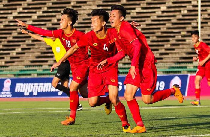 Trang chủ AFC dùng 2 từ để miêu tả chiến thắng của U22 Việt Nam - Bóng Đá