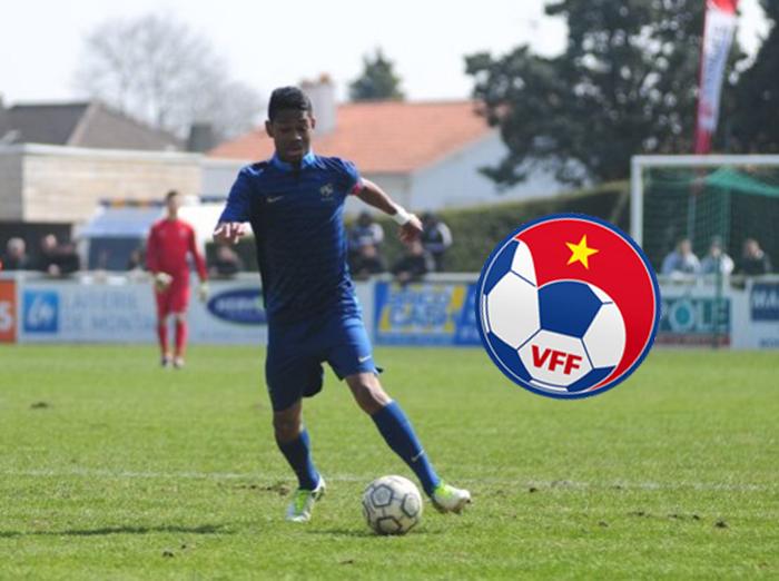 VFF bật đèn xanh cho cựu sao U18 Pháp khoác áo ĐT Việt Nam (Jason Quang-Vinh Pendant) - Bóng Đá
