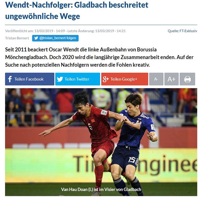 NÓNG: Đoàn Văn Hậu lọt vào tầm ngắm của CLB Bundesliga - Bóng Đá