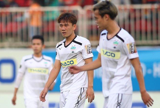 TRỰC TIẾP HAGL 2-0 Than Quảng Ninh (H1): Hồng Duy thử vận may - Bóng Đá