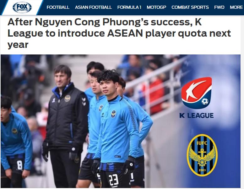 Báo châu Á: Công Phượng đã khiến K-League phải thay đổi cả quy chế - Bóng Đá