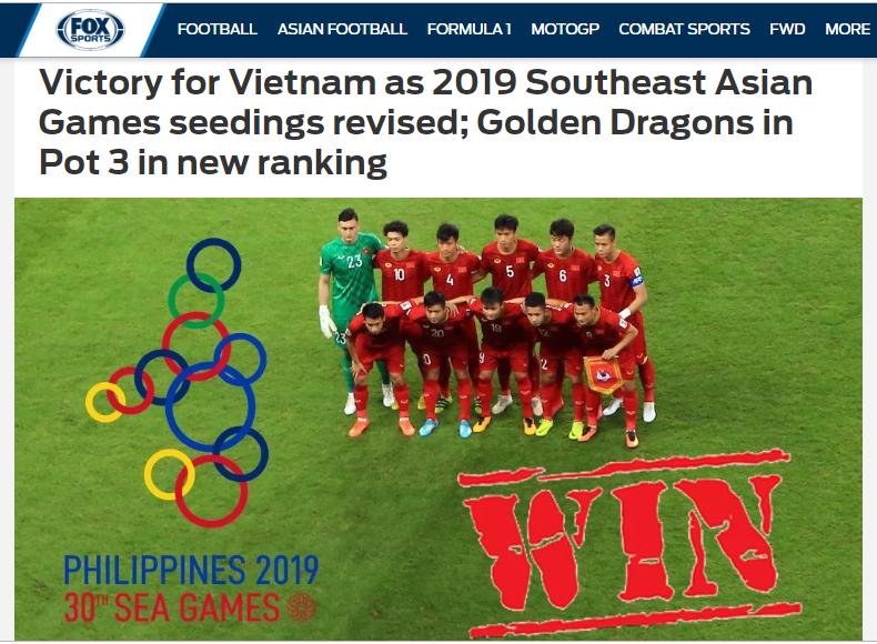 Báo châu Á: Việt Nam khiếu nại BTC SEA Games thành công nhờ 1 yếu tố (Fox) - Bóng Đá