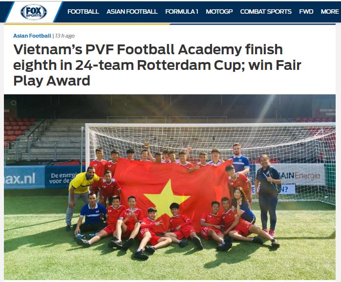 Báo châu Á: PVF của Việt Nam về thứ 8, hơn cả Tottenham Hotspur - Bóng Đá