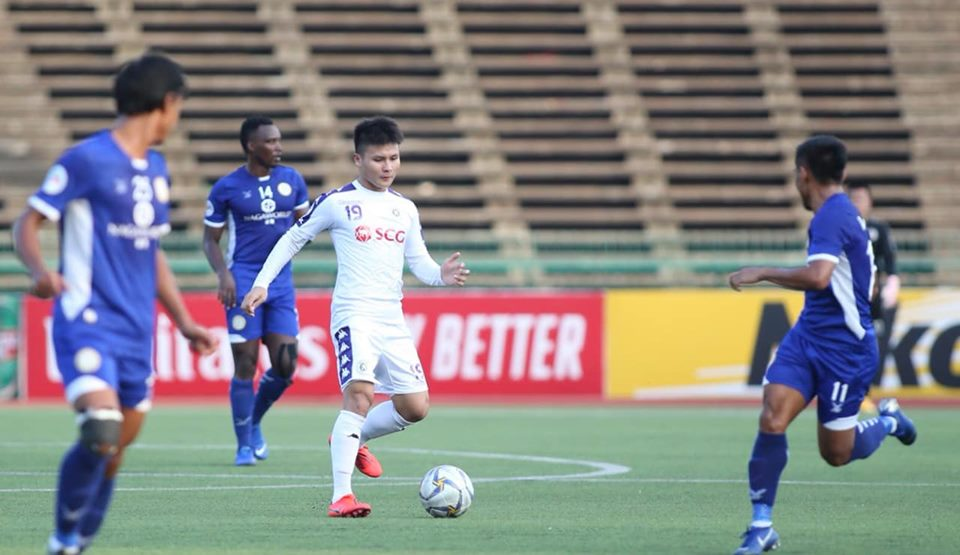 Báo châu Á chỉ ra cầu thủ xuất sắc nhất CLB Hà Nội trong chiến thắng Naga World - Bóng Đá