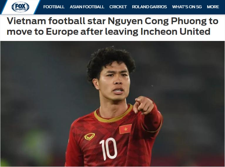 Báo châu Á: Sắp có một ngôi sao của ĐT Việt Nam đến châu Âu thi đấu - Bóng Đá