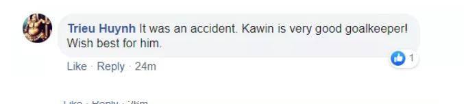 Thắng Thái Lan, CĐV Việt Nam có động thái bất ngờ với thủ thành Kawin (an ủi) - Bóng Đá