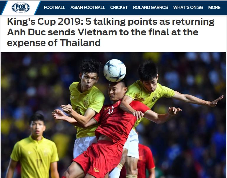 Báo châu Á chỉ ra cầu thủ xuất sắc nhất ĐT Việt Nam trong trận thắng Thái Lan - Bóng Đá
