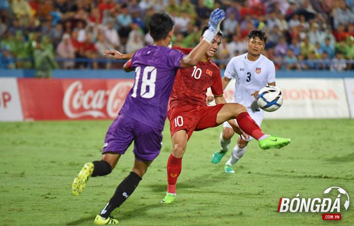 TRỰC TIẾP U23 Việt Nam 2-0 U23 Myanmar (Hiệp 2): Tiến Linh nhân đôi cách biệt - Bóng Đá