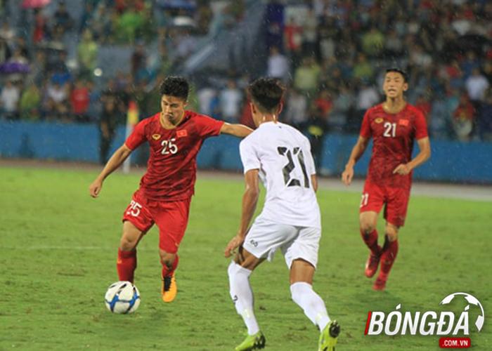 TRỰC TIẾP U23 Việt Nam 2-0 U23 Myanmar (Hiệp 2): Martin Lo sút bóng chạm xà - Bóng Đá