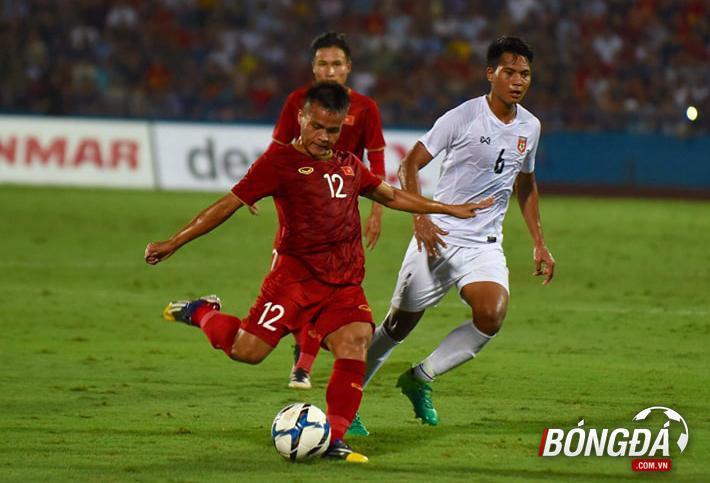 TRỰC TIẾP U23 Việt Nam 1-0 U23 Myanmar (Hiệp 1): Chủ nhà tiếp tục dồn ép - Bóng Đá