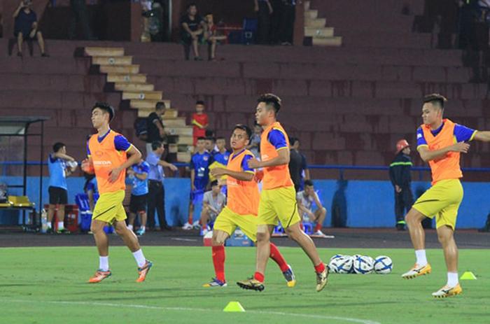 TRỰC TIẾP U23 Việt Nam vs U23 Myanmar: Hoàng Đức đá chính, Martin Lo dự bị - Bóng Đá
