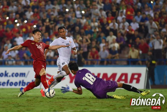 TRỰC TIẾP U23 Việt Nam 1-0 U23 Myanmar (Hiệp 1): Hoàng Đức làm rung chuyển cầu môn đội khách - Bóng Đá
