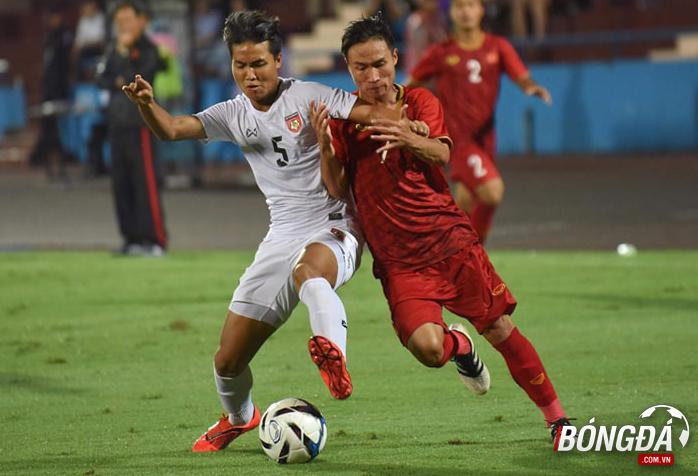 TRỰC TIẾP U23 Việt Nam 1-0 U23 Myanmar (Hiệp 2): Đội khách đẩy cao đội hình - Bóng Đá
