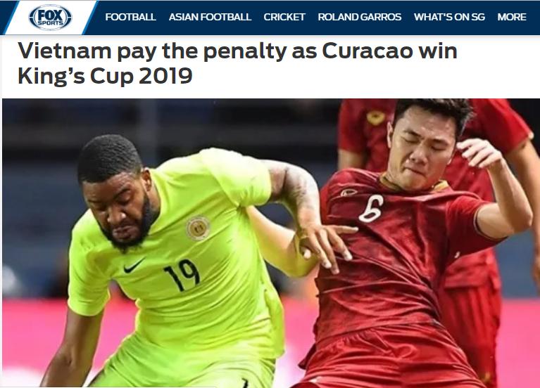 Báo châu Á: ĐT Việt Nam đá tốt, nhưng họ vẫn thiếu 1 điều để đoạt King's Cup (Fox Sports Asia) - Bóng Đá