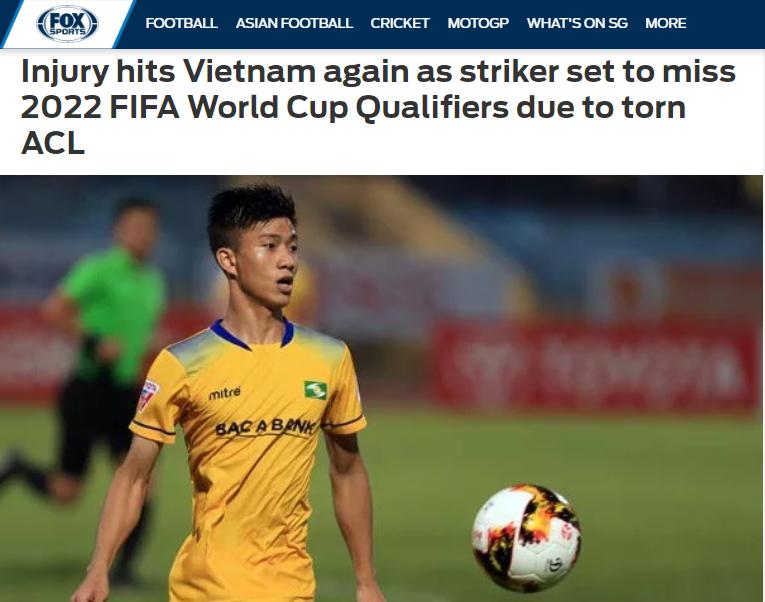 Báo châu Á: ĐT Việt Nam tiếp tục chịu tổn thất lớn trước VL World Cup - Bóng Đá
