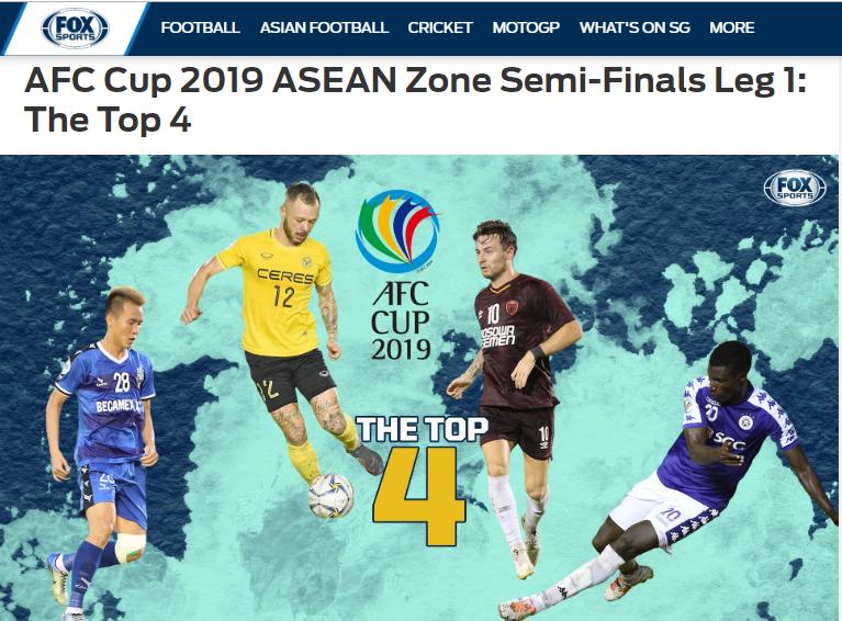 Pape Omar, Văn Vũ lọt top 4 cầu thủ xuất sắc Bán kết lượt đi AFC Cup - Bóng Đá