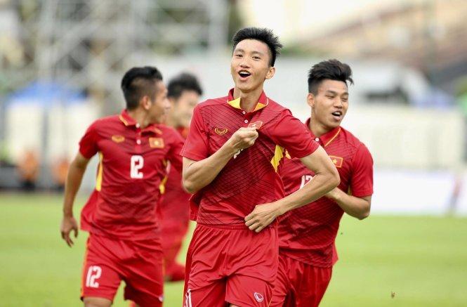 Đoàn Văn Hậu toả sáng trong trận đấu với U22 Timor Leste tại SEA Games 29.