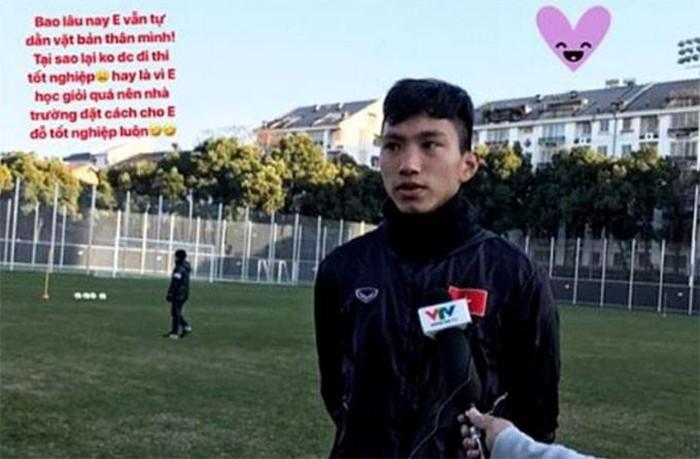 Tiết lộ lý do Đoàn Văn Hậu được miễn thi tốt nghiệp THPT Quốc gia - Bóng Đá