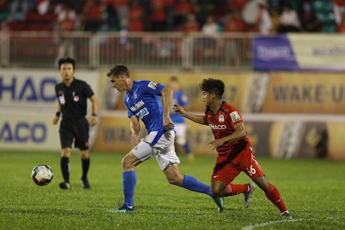 TRỰC TIẾP Than Quảng Ninh 1-0 HAGL (Hiệp 1): Hải Huy mở điểm cho đội chủ nhà - Bóng Đá